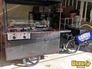 Street Food Concession Cart Food Cart Refrigeration California for Sale