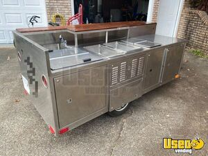 Street Food Concession Cart Food Cart Stovetop Alabama for Sale