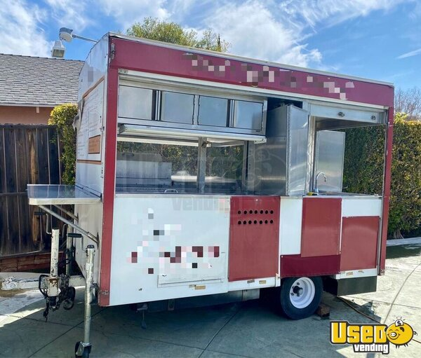 Street Food Concession Trailer Concession Trailer California for Sale