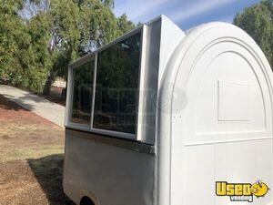 Street Food Concession Trailer Concession Trailer Diamond Plated Aluminum Flooring California for Sale