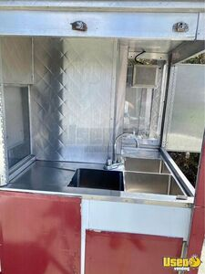 Street Food Concession Trailer Concession Trailer Double Sink California for Sale