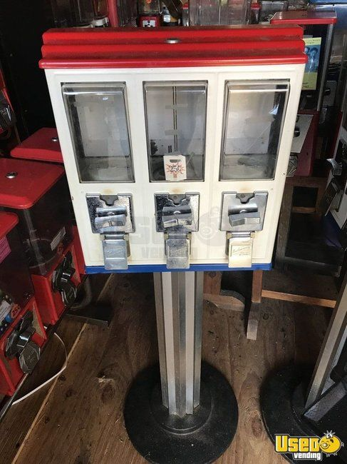 Northwestern Triple Play Bulk Candy Vending Machines for Sale in South Carolina!