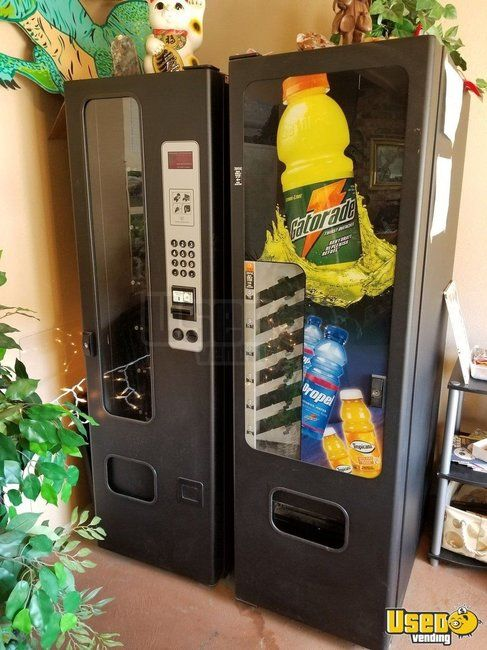 Vendnet 3505 Snack & Soda Satellite Combo Vending Machine for Sale in Arkansas!