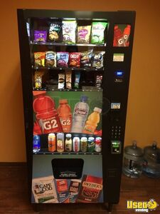 2018 Wittern Selectivend Advantage Plus Combo Futura USI Vending Machines for Sale in California!