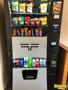 Wittern / USI Combo + AMS Snack & Drink Electronic Vending Machines for Sale in Minnesota!