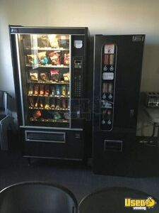 Used USI / Vendnet Combo Satellite Glass Front Snack & Soda Vending Machine for Sale in Utah!
