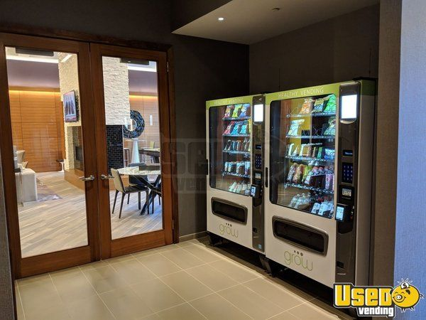 2016 GROW Healthy G3 Combo Snack & Drink Vending Machines for Sale in New York!