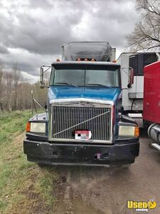 1994 Volvo Flat Top Sleeper Cab Semi Truck for Sale in Idaho! - Works Great!