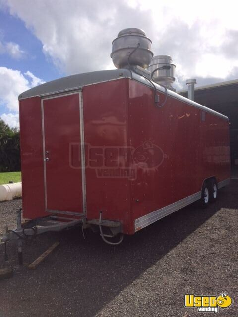 Well Cargo All-purpose Food Trailer Concession Window Florida for Sale - 3