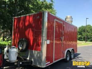 Wells Cargo All-purpose Food Trailer Cabinets Texas for Sale