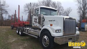 2009 Western Star 4900SF D60 AT Dual Exhaust and 2016 Pitts Bolster Trailer for Sale in Maryland!