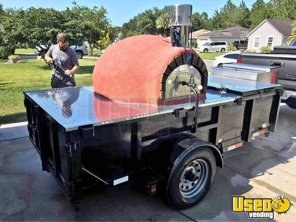 Wood-fired Pizza Trailer Pizza Trailer North Carolina for Sale
