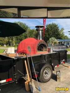 Wood-fired Pizza Trailer Pizza Trailer Refrigerator North Carolina for Sale