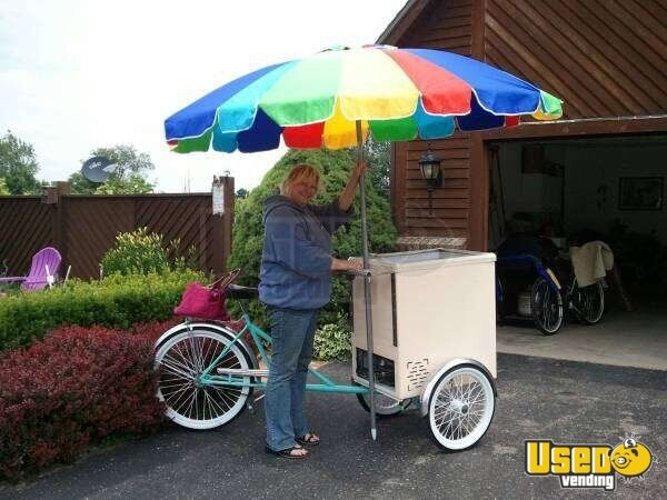 Ice Cream Cart For Sale >> For Sale Used Worksman Ice Cream Cart In Michigan Food Cart