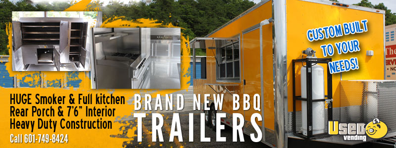 Custom BBQ Porch Trailers for Sale