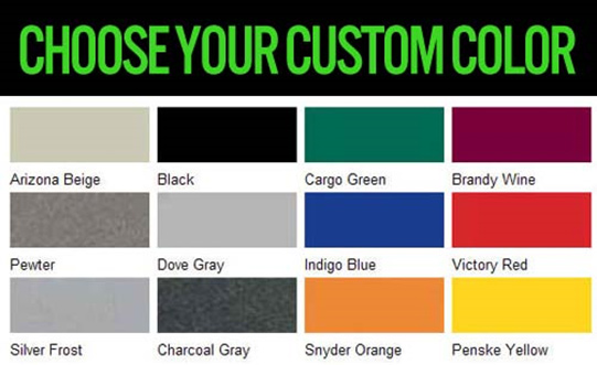 Choose Your Custom Color