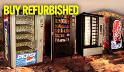remanufactured & refurbished vending machines, used vending machines