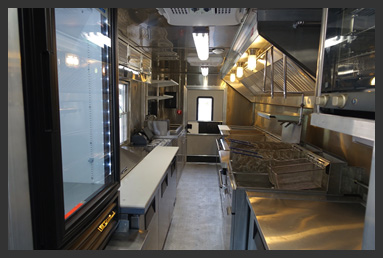 Custom Food Truck Interior