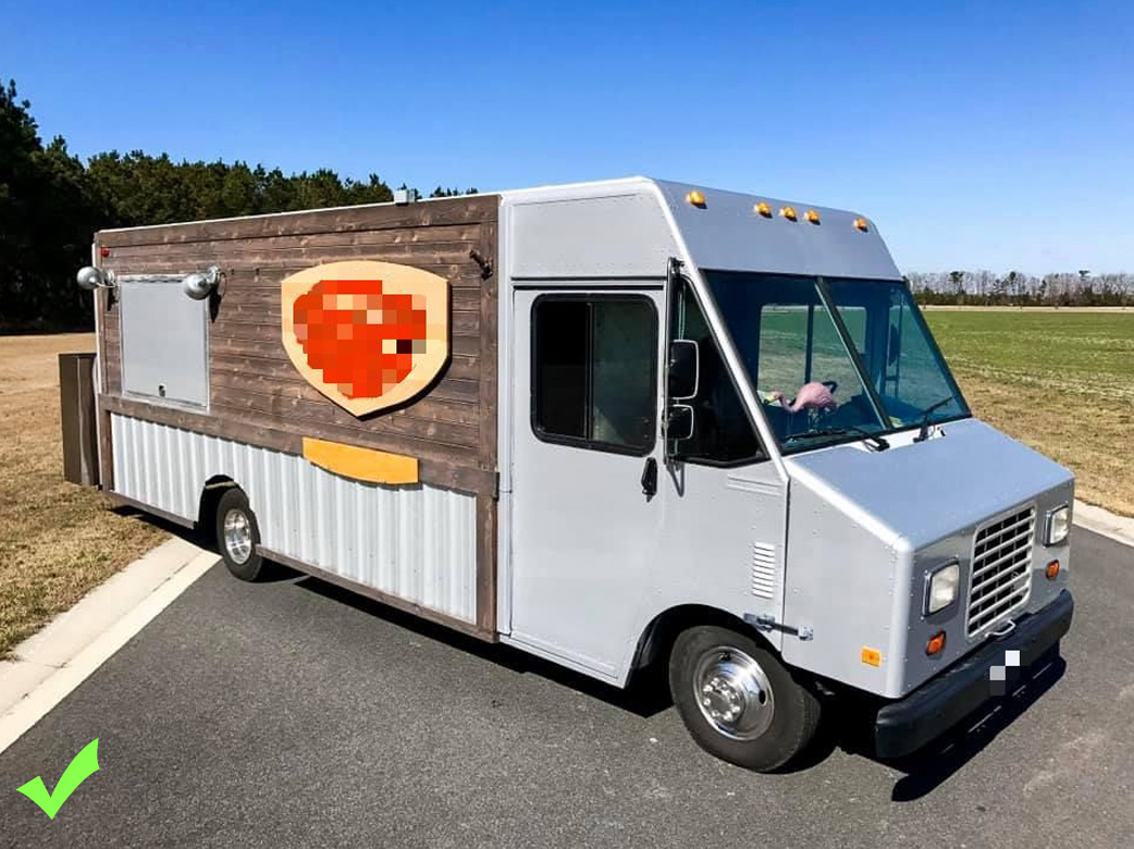 Food Truck for Sale Good Exterior