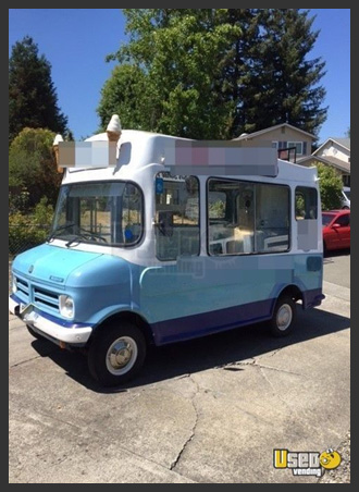 Used Classic Ice Cream Wagon
