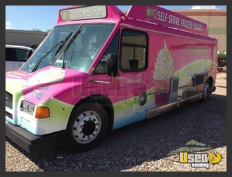 Used Ice Cream Bus