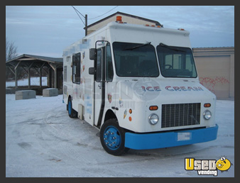 Used Ice Cream Stepvan
