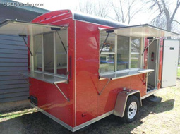 Small Snowball Trailer for Sale