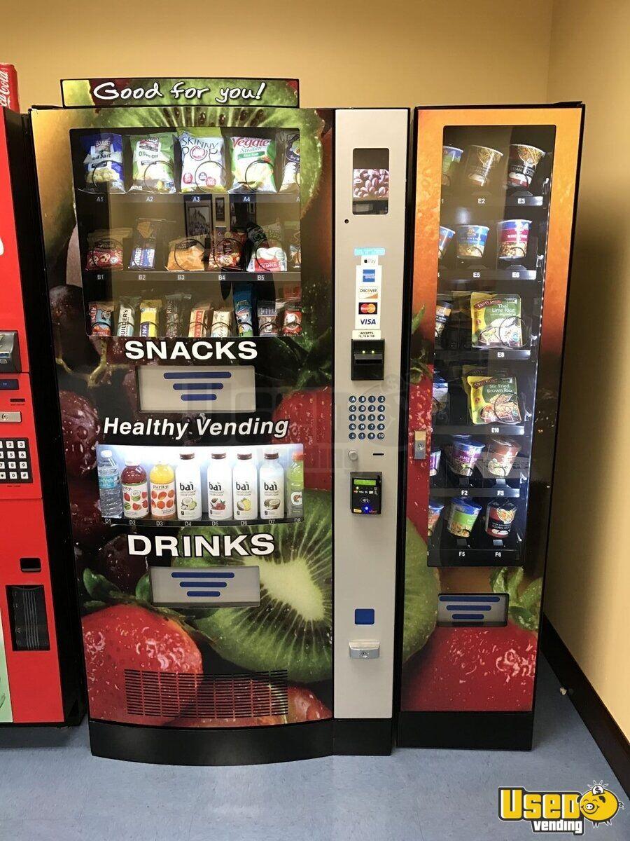 healthy vending machine items