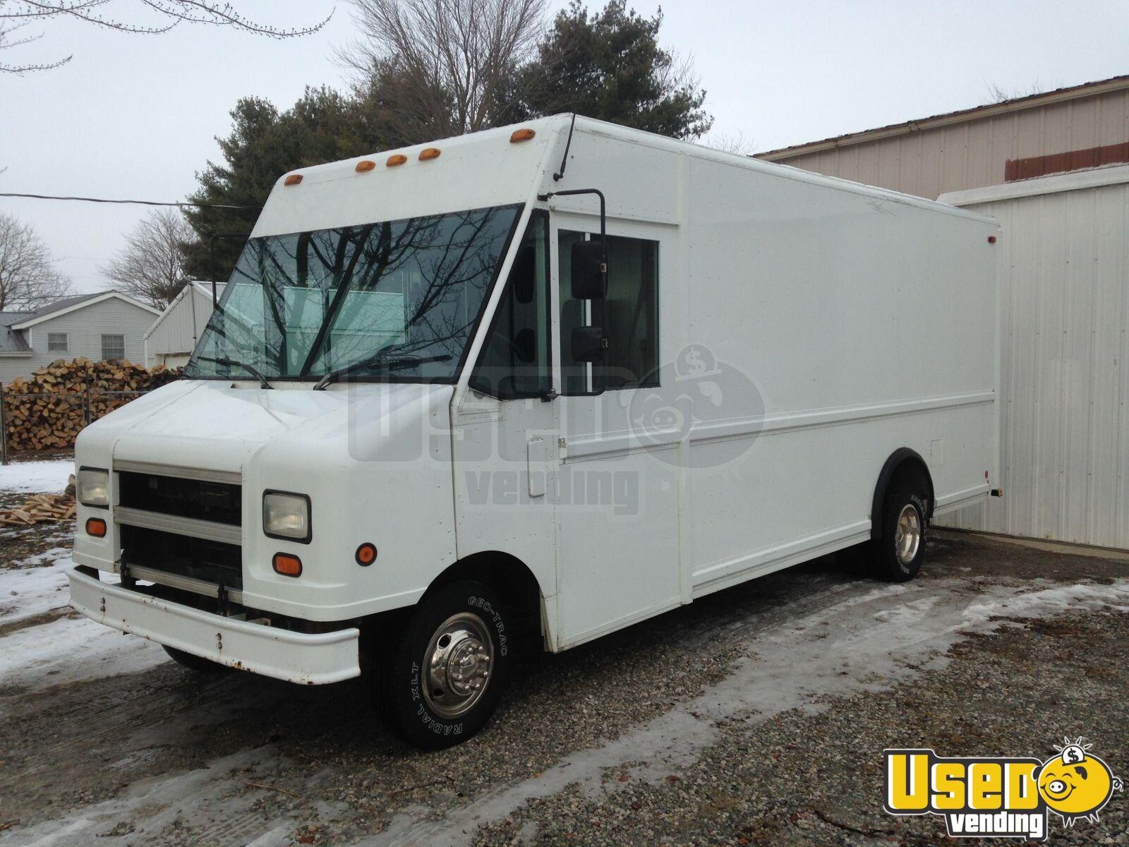 ford e350 food truck mobile kitchen for sale in indiana. Black Bedroom Furniture Sets. Home Design Ideas