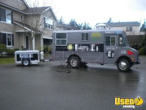 for sale used chevy food truck in washington mobile kitchen. Black Bedroom Furniture Sets. Home Design Ideas