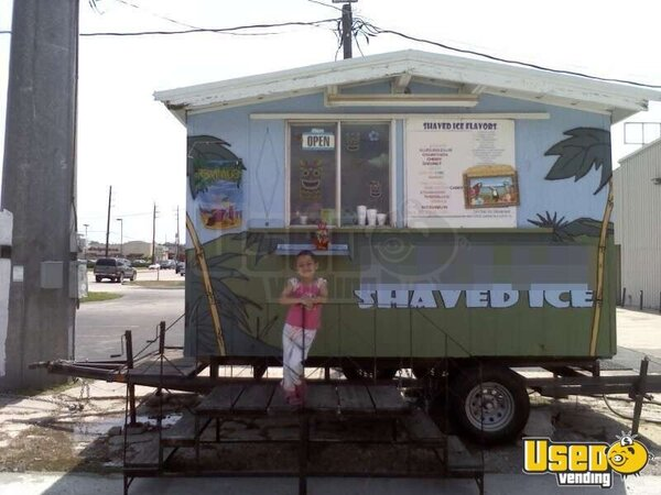 12' Shaved Ice Concession Stand with Transport Trailer!!!