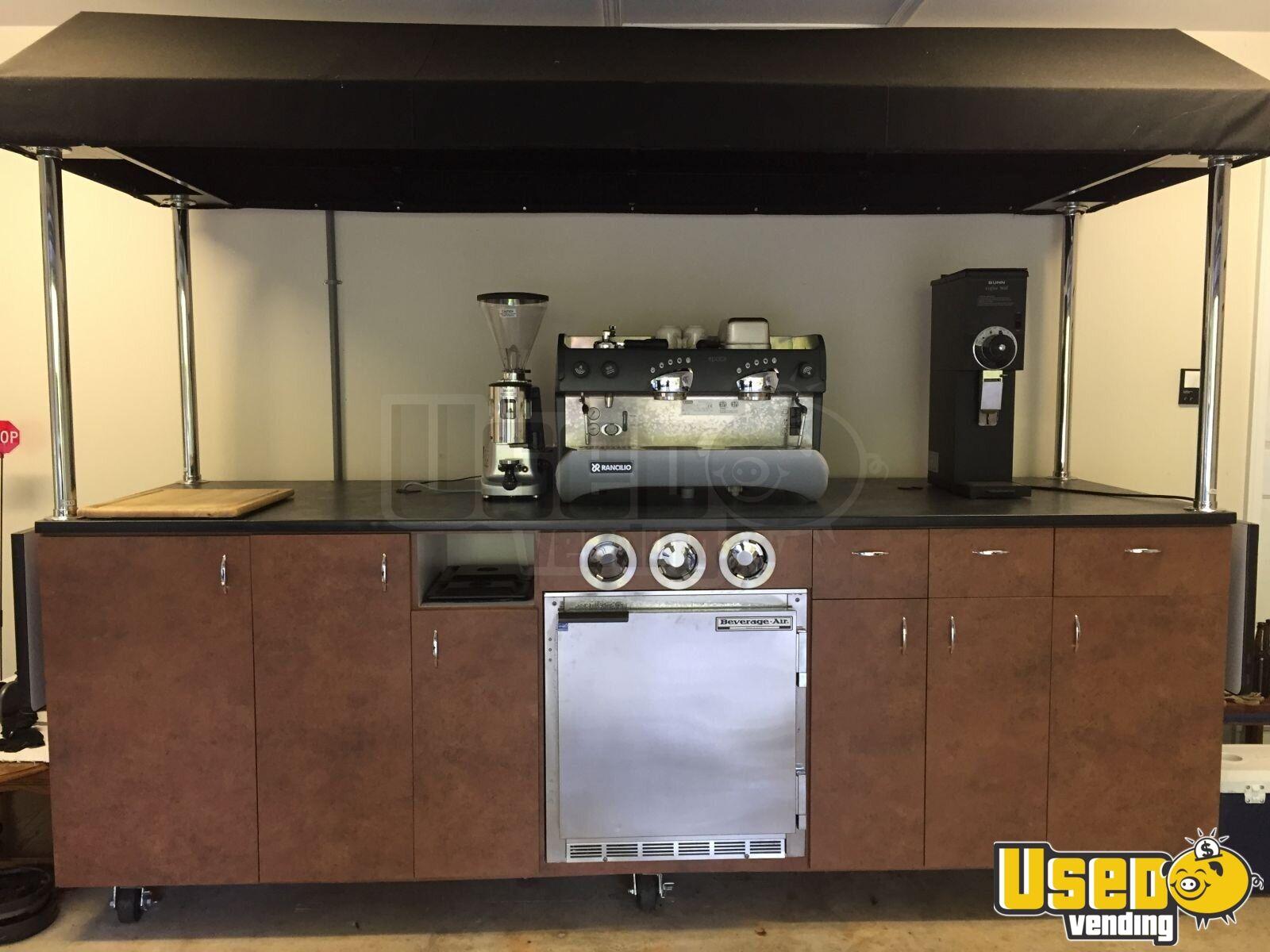 Mobile Espresso Kiosk Coffee Cart Smoothie Cart For Sale