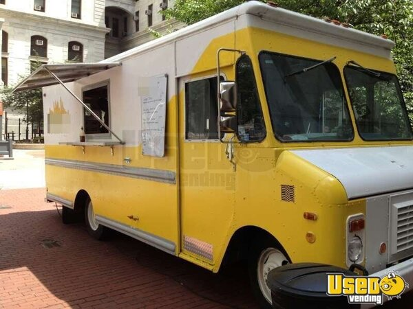 Chevy Grumman Step Van Food Truck For Sale Mobile Pizza