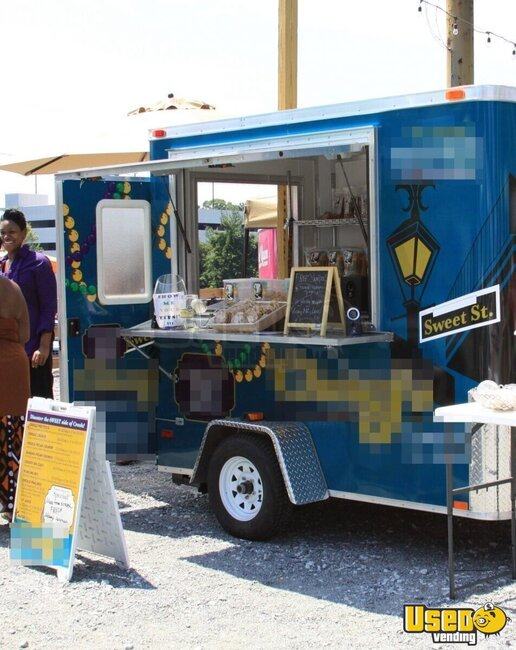5 X 8 Mobile Bakery Concession Trailer For Sale In Georgia