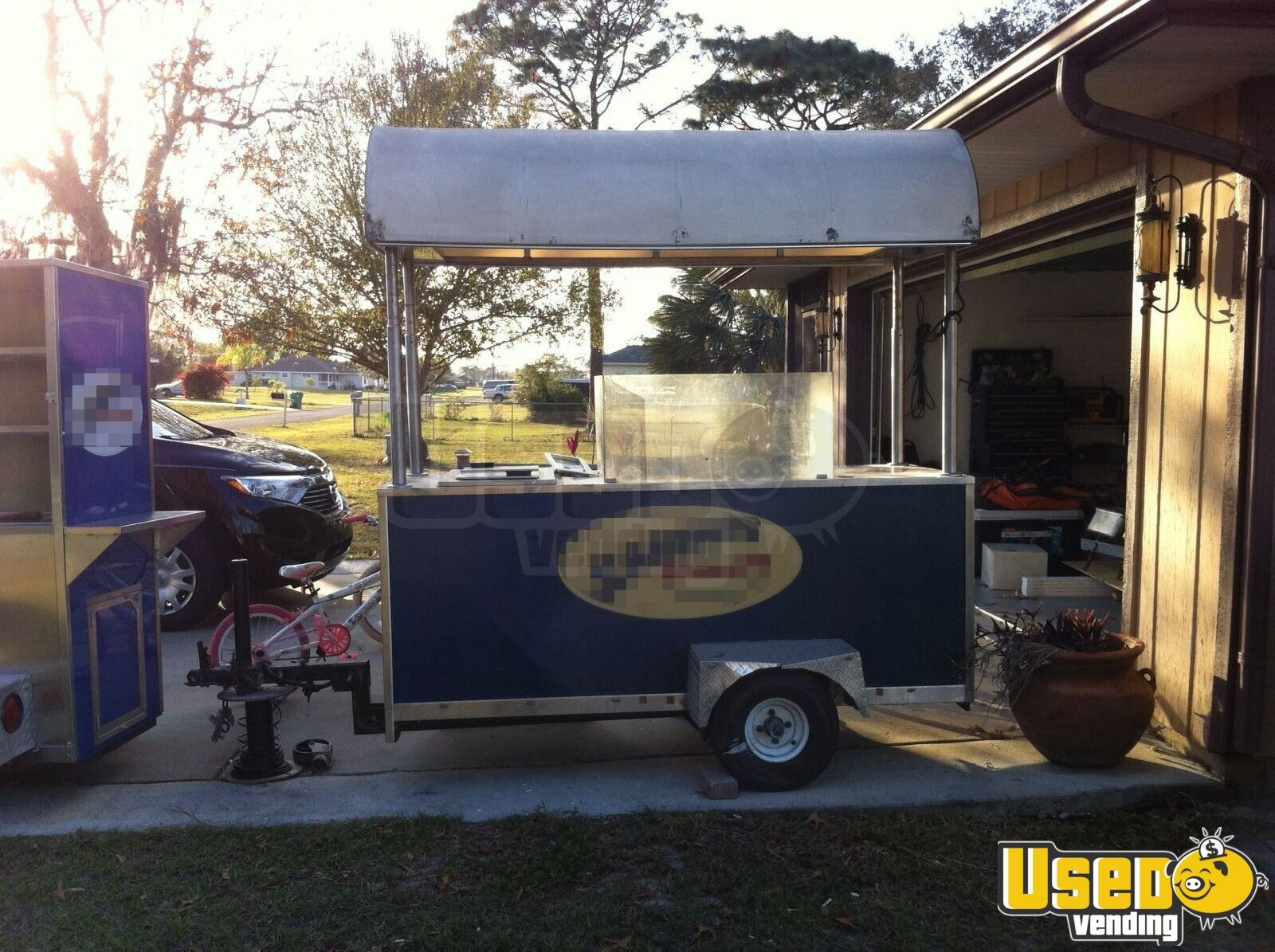 8 39 Custom Hot Dog Trailer Hot Dog Cart For Sale In Florida