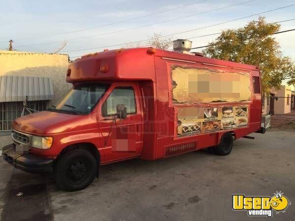 ford food truck mobile kitchen for sale in texas. Black Bedroom Furniture Sets. Home Design Ideas