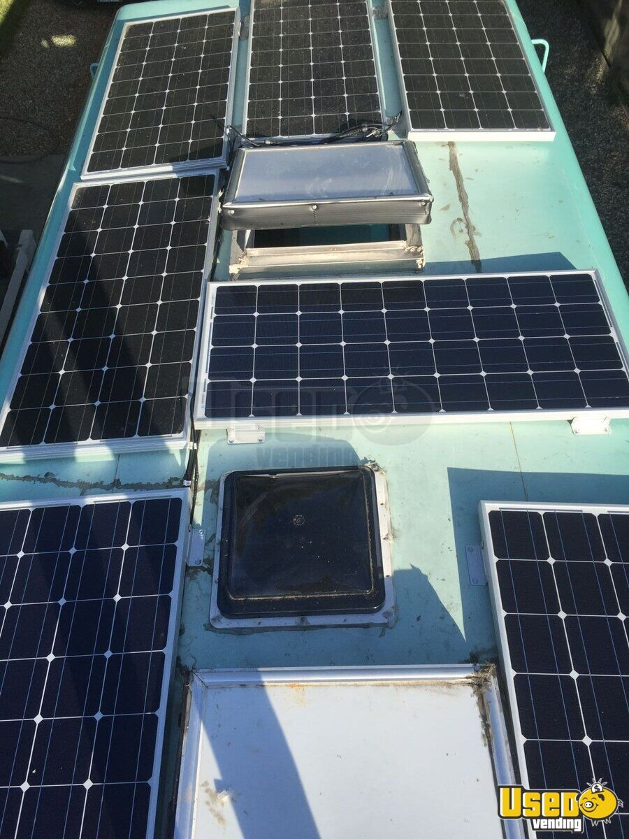 Solar Powered Food Truck For Sale In California Gmc P30
