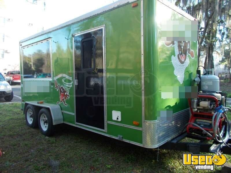 Florida 18 39 Mobile Kitchen Concession Trailer For Sale