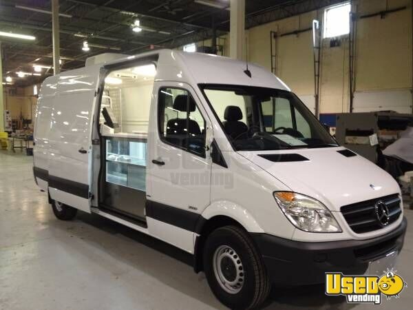Mercedes benz sprinter 2500 beverage van for sale in new for Mercedes benz conversion vans for sale