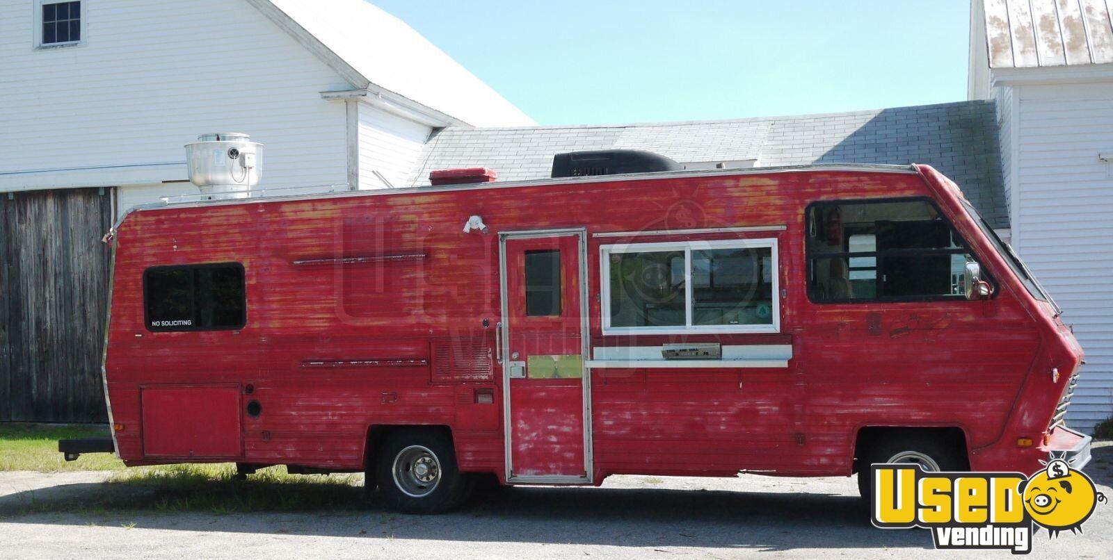 food truck mobile kitchen for sale in maine. Black Bedroom Furniture Sets. Home Design Ideas