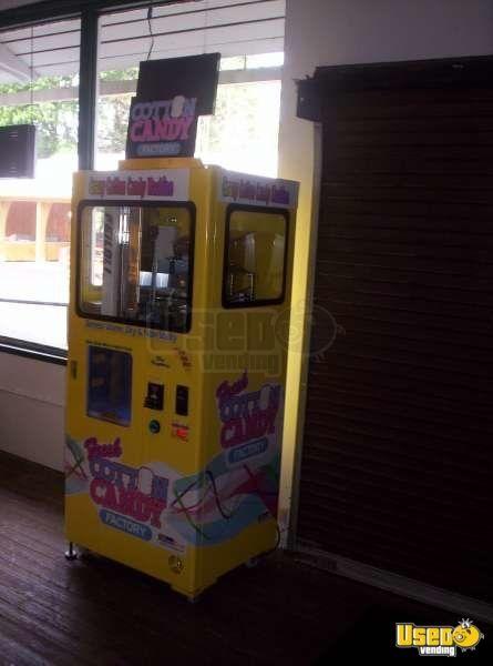 Vend Ever Cotton Candy Factory Vending Machine Cotton