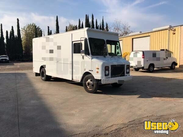 Groman Step Van Truck For Conversion Sale In California