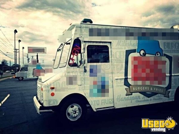 for sale used chevy food truck in tennessee mobile kitchen burger truck. Black Bedroom Furniture Sets. Home Design Ideas