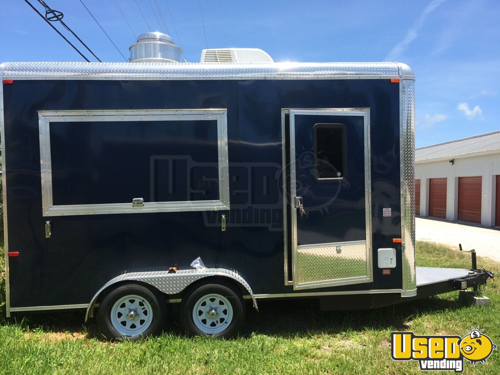 New 7 X 14 Food Concession Trailer Kitchen Trailer For