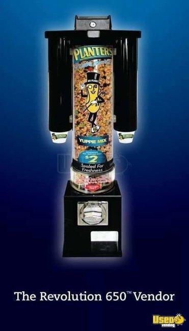 Revolution 650 Machines Used Nut Machines Candy Machines