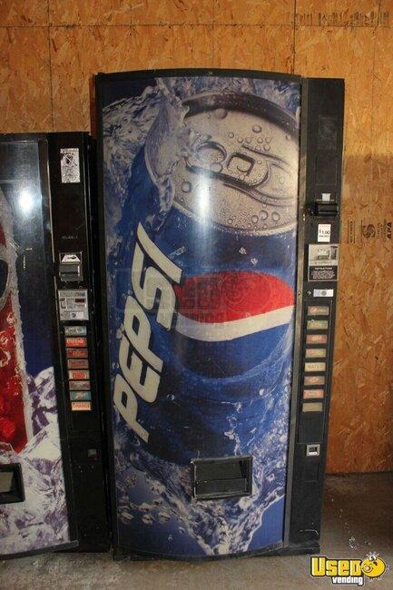 used soda vending machine