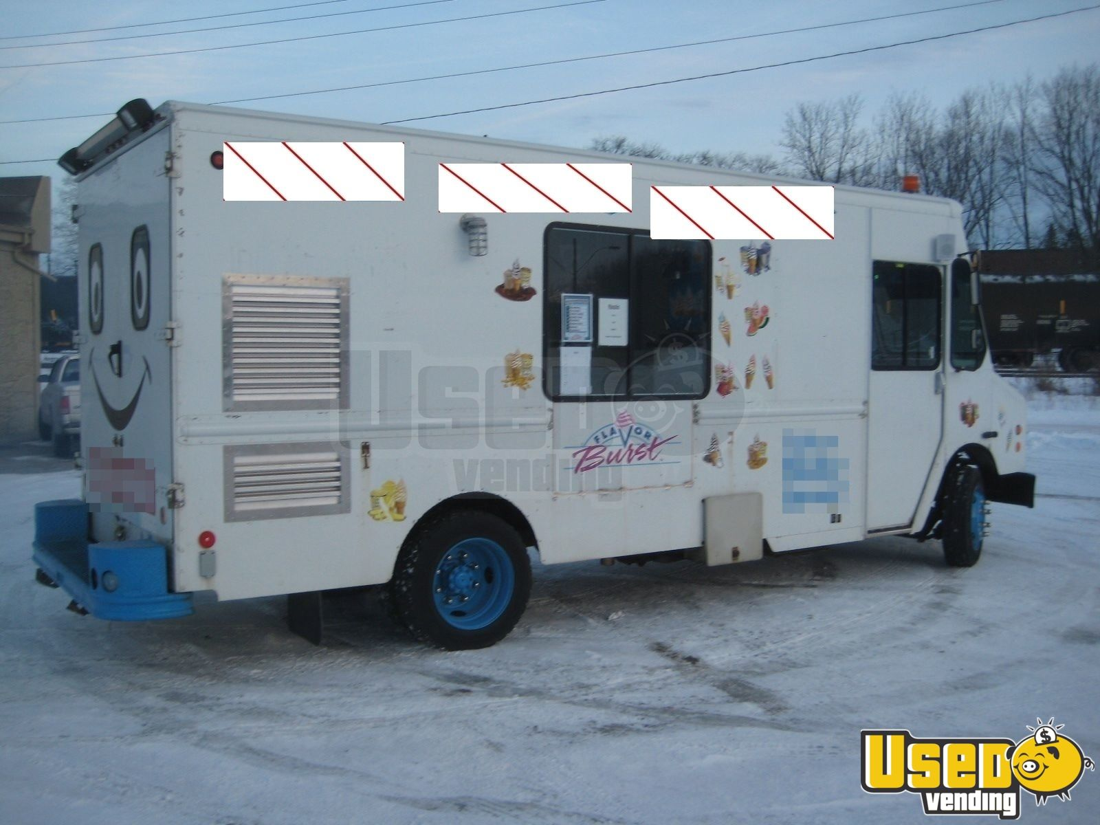 Used Freightliner Ice Cream Truck in Canada for Sale - 2