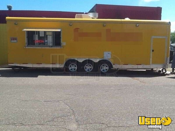 Mobile Kitchen 30 39 Food Concession Trailer For Sale In Montana Commercial Food Trailer