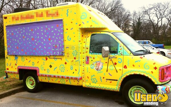 used gmc savana cutaway food truck in tennessee for sale smoothie truck bubble tea truck. Black Bedroom Furniture Sets. Home Design Ideas
