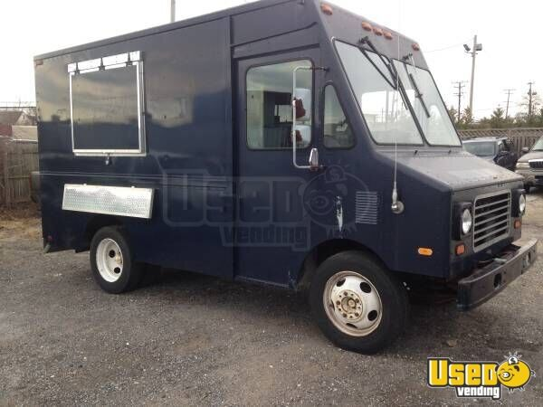 chevy p30 food truck mobile kitchen for sale in maryland. Black Bedroom Furniture Sets. Home Design Ideas
